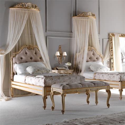 rococo bed rococo button upholstered single bed