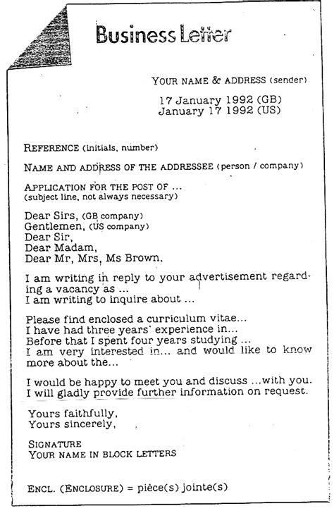 Exemple De Lettre Informelle Anglaisedgarpoe Just Another Weblog Page 8