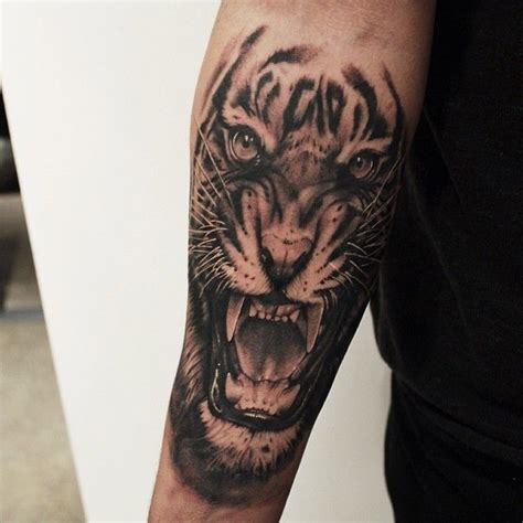 tiger wrist tattoo 2628 best superhype images on animal tattoos