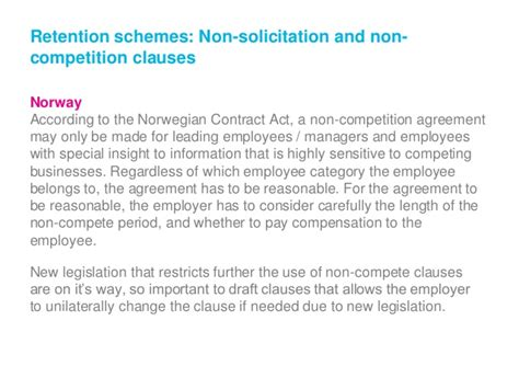 Non Compete Agreement Warning Letter nordic hr seminar 2015 quot performance management and misconduct quot