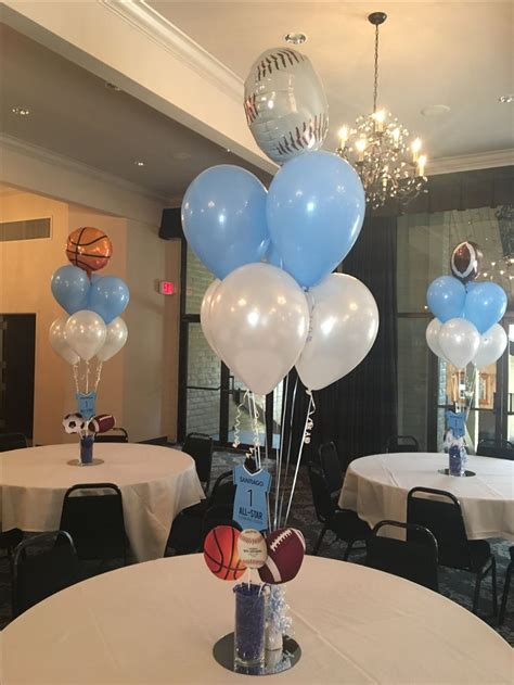 Baby Boy Balloons For Baby Shower by 25 Best Ideas About Baby Shower Balloons On