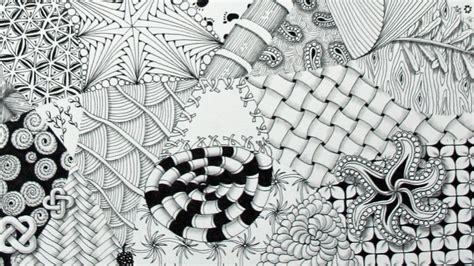 Muster Malen zentangle eine besondere entspannungstechnik evidero