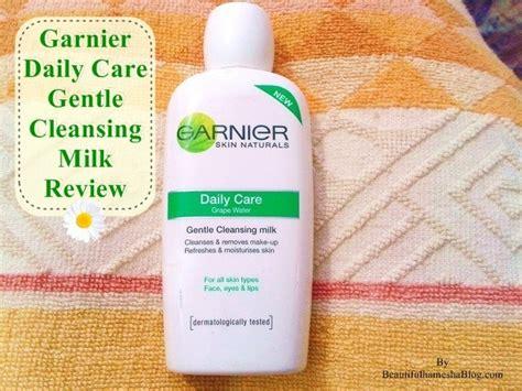 Garnier Clean Detox Gentle Brightening Scrub Review by Garnier Daily Care Gentle Cleansing Milk Review
