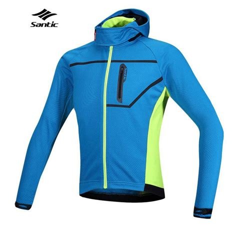 hooded cycling jacket 2015 santic thermal hooded cycling jacket composite carbon