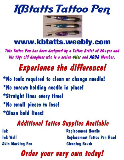 kbtatts tattoo pen how we are different kbtatts tattoo pen