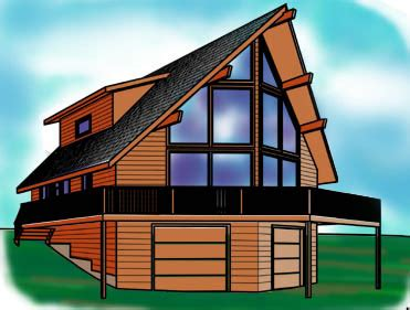 chalet house plans with loft cabin plans at cabinplans123 many great cabin plans money back guarantee materials
