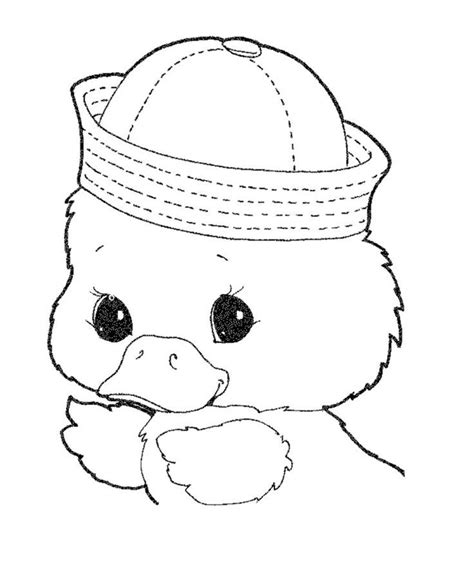 cute duck coloring pages az coloring pages
