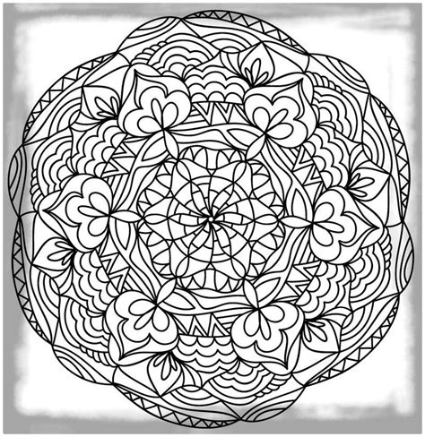 imagenes de mandalas muy dificiles dibujos para pintar mandalas dificiles archivos dibujos