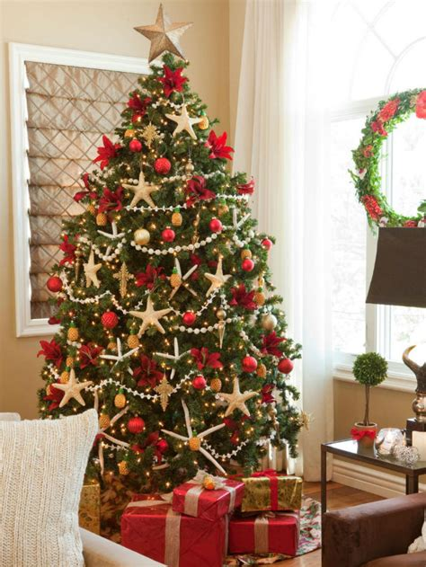 Decorated Trees - lavishly decorated trees to copy