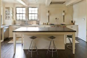 stainless steel topped kitchen islands belgium bluestone countertops transitional kitchen