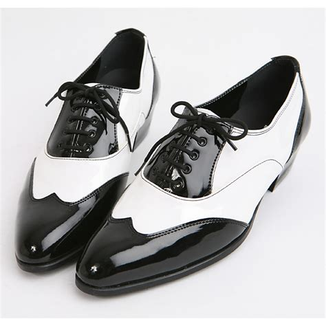 black and white mens oxford shoes mens black white wingtip oxfords
