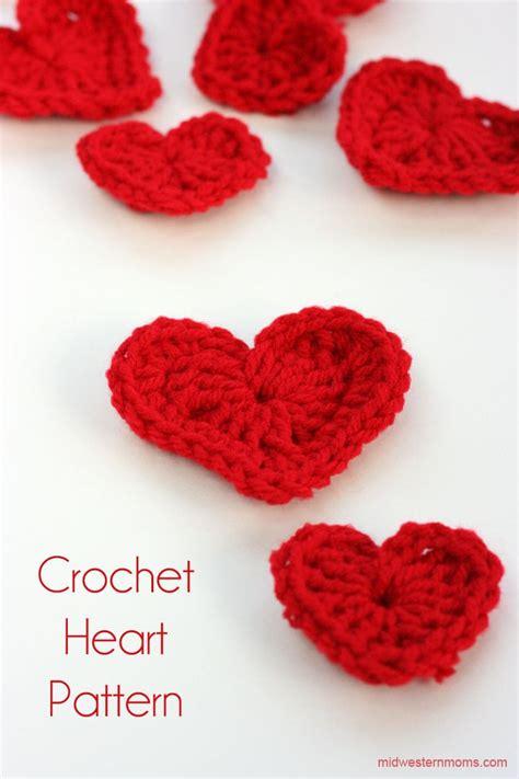 crochet heart pattern pinterest crochet heart patterns