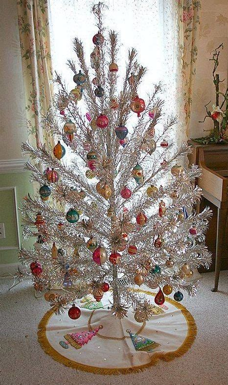 tinsel tree with color wherl collection vintage tinsel tree pictures tree decoration ideas