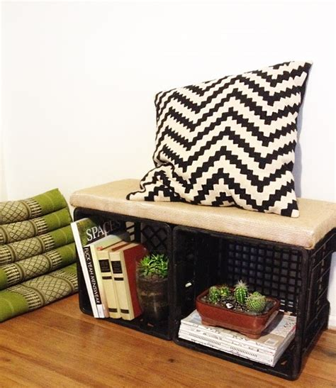 milk crate bench milk crates can do so much more than just hold milk