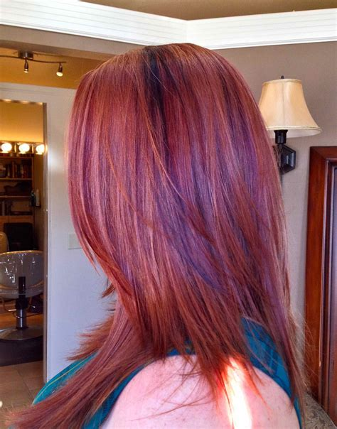 can you have purple highlights for a 60 year woman edgy hair color ideas for 2016 vibrant red and purple