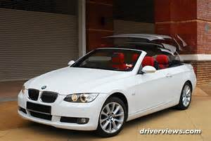 bmw e93 325i convertible 2009 driverviews