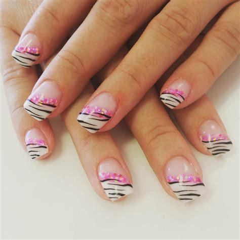 zebra pattern nail design 22 zebra nail art designs ideas design trends