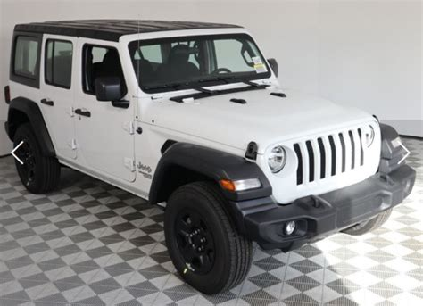 2019 jeep grand wrangler recent choose a 2019 jeep wrangler sport or 2019 jeep