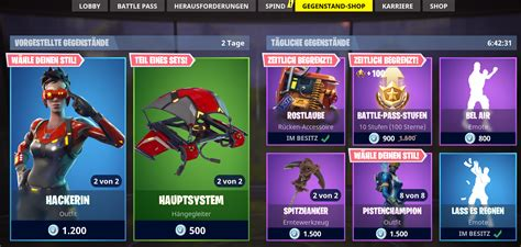 fortnite newsletter immer der aktuelle fortnite shop gamesunite de