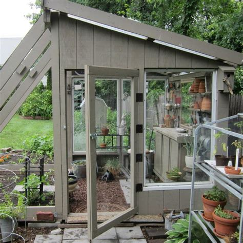 Potting Shed Greenhouse by Greenhouse She Shed Combination Greenhouse And Potting