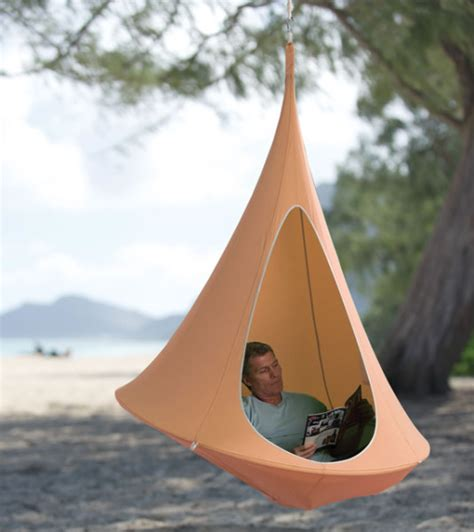 cocoon swing rock sway in a hanging cocoon incredible things
