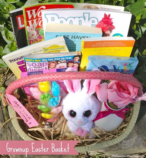 easter gifts for adults diy grownup easter basket for adults the o jays baskets