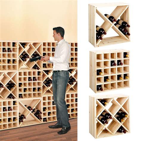 flaschenregal keller weinregal 52 modular in weinregale holz