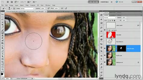 photoshop cs5 masking tutorial video photoshop cs5 painting with a layer mask lynda com