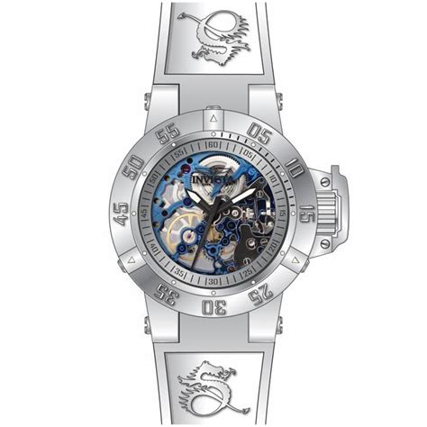 invicta 17144 s subaqua silver skeleton dive