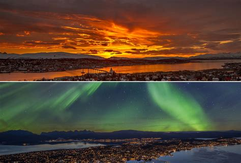northern lights sun l 20 things to do and best places to take photos in norway