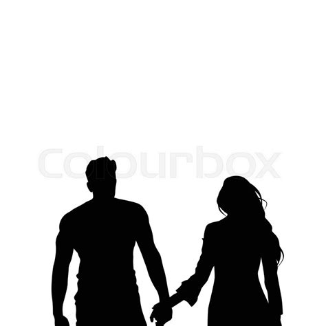 couple wallpaper black and white silhouette of couple dating stock best free home