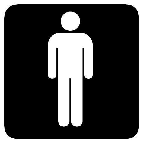 male bathroom symbol male bathroom signs clipart best
