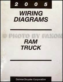 2005 dodge ram truck repair shop manual 4 vol set
