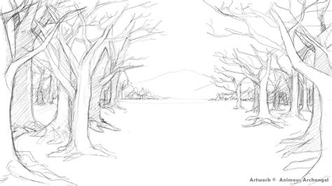 background drawing ideas draw background archangel project scenery background