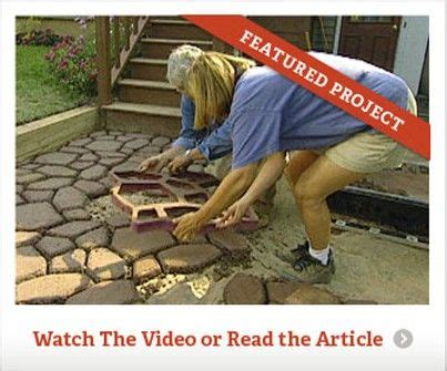 make your own patio pavers make your own concrete walkway pavers decks patios and