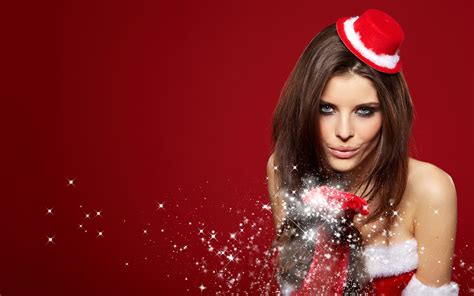 christmas babe wallpaper gallery