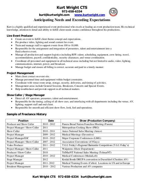 event production resume annecarolynbird