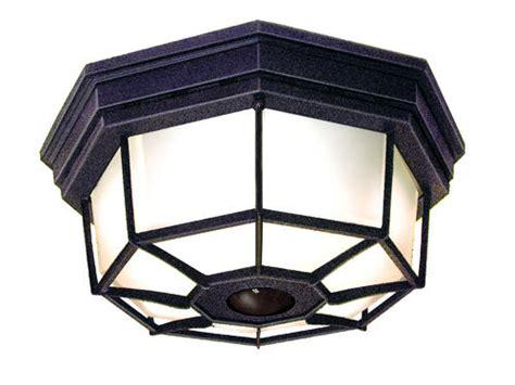menards outdoor lighting motion sensor heath zenith octagonal 360 degree decorative ceiling light