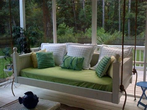 1000 ideas about outdoor swings large porch swing bed
