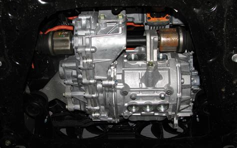 nissan leaf transmission the vehicle the drivetrain can be accessed easily