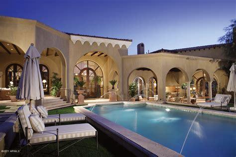 Santa Barbara/Tuscan Inspired Mansion In Scottsdale, AZ