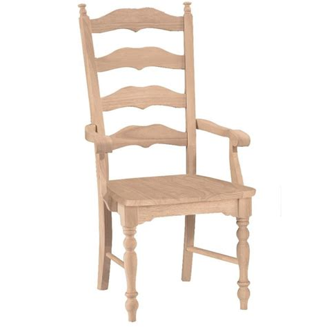 Ladderback Dining Chairs Maine Ladderback Dining Arm Chair