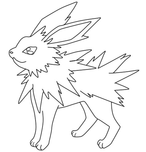 pin printable jolteon friends wallpapers coloring pages on