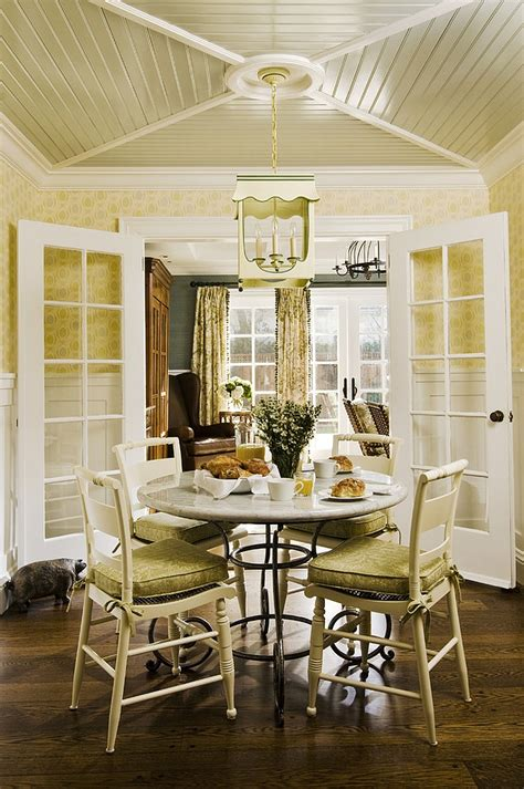 cottage style dining room how to use green to create a fabulous dining room