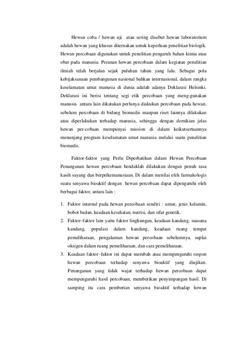 cara membuat laporan hasil praktikum kimia laporan praktikum farmakologi i pendahuluan