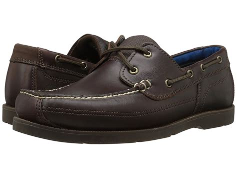 timberland men s piper cove boat shoes timberland piper cove leather boat shoe in brown for men