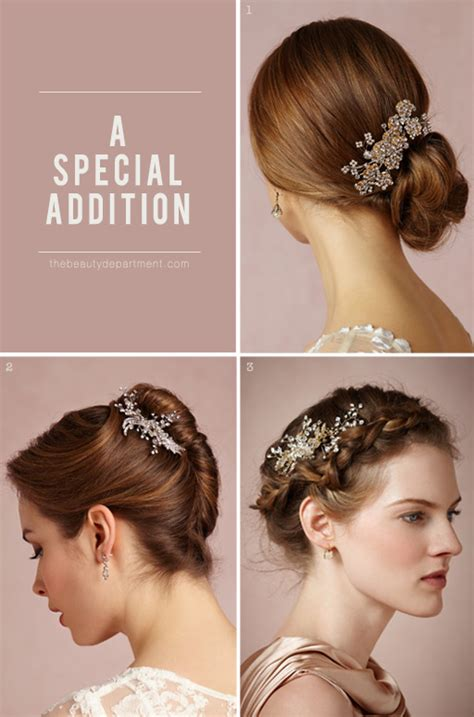 wedding hairstyle accessories the department your daily dose of pretty