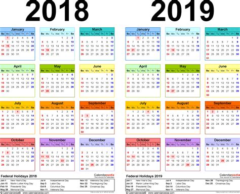 5 excellent year calendar 2018 printable uk free of charge so that