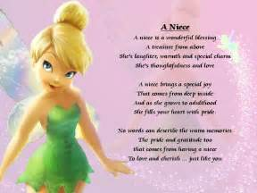 Birthday Quotes For A Special Niece Personalised Poem A Niece Various Designs