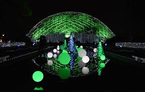 st louis botanical garden lights garden glow at missouri botanical garden dang travelers